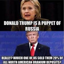 Russia Meme - hillary claims trump is a russian puppet but here s the truth