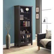 Coaster Bookshelf Coaster Bookshelf In Dark Grey Finish 800554 Walmart Com