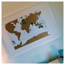 Ikea World Map Scratch Map
