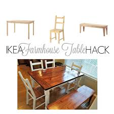 Ikea Childrens Picnic Table by Ikea Hack From Ikea Ingo To Farmhouse Table Home Decor Ideas