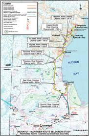 Churchill Canada Map by Manitoba Nunavut To Study Road Feasibility