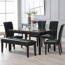 Contemporary White Dining Room Sets - dining table modern dining table and chairs pythonet home furniture
