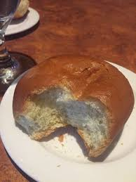special thanksgiving dinner roll instead of usual bread