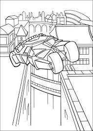 batman car jumping coloring pages action coloring pages batman