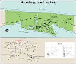 Michigan Wineries Map by Muskallonge Lake State Parkmaps U0026 Area Guide Shoreline Visitors