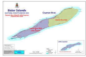 Grand Cayman Map Electoral Boundaries Commission