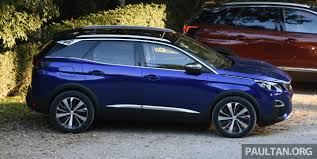 blue peugeot driven peugeot 3008 in italy u2013 plenty of savoir faire image 708662