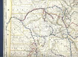 Maps Colorado Colorado Railroad Map 1892