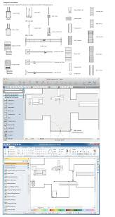 Symbol For Window In Floor Plan by Network Layout Floor Plan Symbols Window Wall Switch Single Outlet