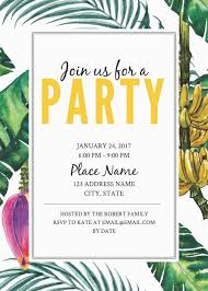 invitation cards templates free printable 16 free invitation card