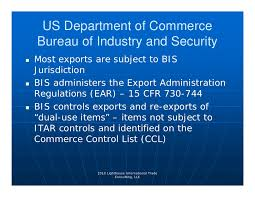 bureau of industry security export compliance 4 13 10