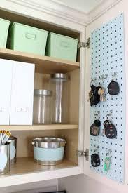kitchen cabinet drawer peg organizer this kitchen pegboard idea is to hide kitchn