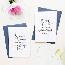 To My Bride On Our Wedding Day Card 28 Best Wedding Stationery Images On Pinterest Wedding