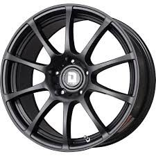 Black Rims For Mustang Free Shipping On Drag Wheels Dr49 18x8 5 114 3 Flat Black Full Rims