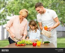 happy family garden vegetarian food culinary image u0026 photo bigstock