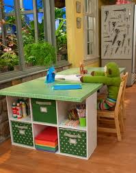 Kids Work Desk by Craft Furniture Storage Turn Old Crib To Kids Work Table Pull Out