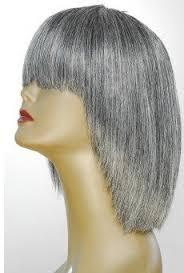 wig jaguar luxury virgin remi human hair salt and pepper gray