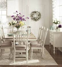 chic dining room ideas shab chic cream dining room extendable