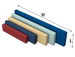 mensole laccate lucide mensole laccate ad alto spessore su misura