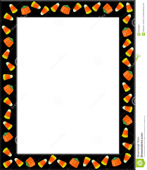 vintage halloween images clip art candy corn border clipart collection