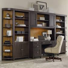 Decorating A Credenza Office Wall Unit With Peninsula Desk Computer Credenza And Wall