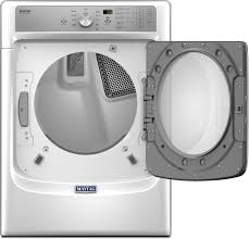 Propane Clothes Dryers Maytag Med8200fw 27 Inch 7 4 Cu Ft Electric Dryer With Steam