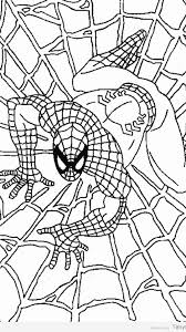 spiderman coloring pages printable timykids