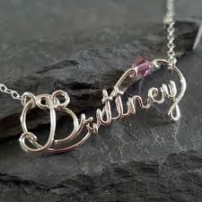 custom engraved necklaces buy made custom personalized birthstone word name necklace in