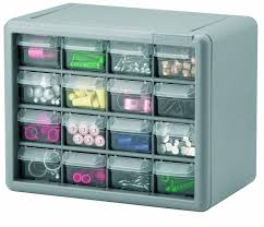 Plastic Storage Cabinet Amazon Com Akro Mils 10716 16 Drawer Plastic Parts Storage