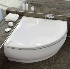 bathtubs idea stunning corner bathtubs for small spaces 48x48