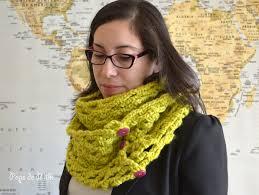 crochet chunky trellis scarf pops de milk