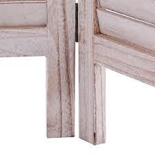 Venetian Room Divider Giantex 6 Panel Room Divider Furniture Classic Venetian Wooden