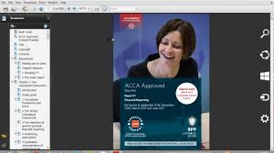 2017 acca bpp f1 to p7 study text youtube