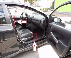 mazda number mazda 2 2010 2013 where is vin number find chassis number