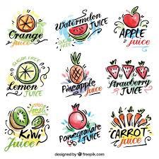 imagenes gratis de frutas y verduras pegatinas de zumos de frutas y verduras dibujadas a mano de acuarela