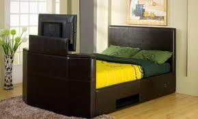 Kingsize Tv Bed Frame King Size Tv Bed Frame Groupon