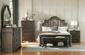 Spanish Bedroom Furniture by Rustic Spanish Style 4 Pc Queen Bed N S Dresser Mirror Bedroom