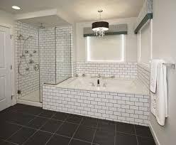 Subway Tile Bathroom Subway Tile Bathroom Black Grout Bathroom Pinterest Black Subway