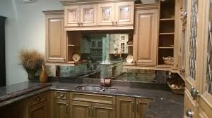 Mirror Backsplash In Kitchen by Custom Framed Mirrors