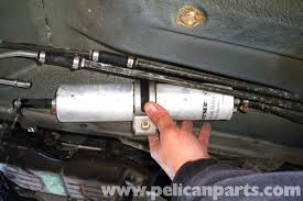 bmw e39 5 series fuel filter replacement 1997 2003 525i 528i