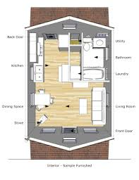 mini house floor plans tiny house floor plans 12 16 alovejourney me