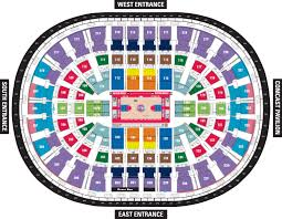 chart united center detailed seating chart