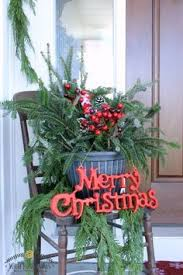 Front Porch Planter Ideas by How To Make Winter Porch Pots Farmhouse Style Urn And Porch