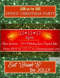 office party flyer customizable design templates for holiday office party postermywall
