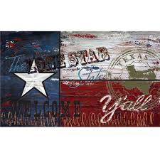 Texaa Flag Apache Mills Texas Flag 18 In X 30 In Recycled Rubber Door Mat