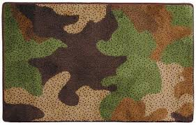 Camo Bathroom Accessories by Camouflage Cabin Lodge Bathroom Accessories Rugs Mats Free