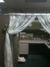 Curtains For Office Cubicles This Would Be Great For A Cubicle Gives You The Feel Of An