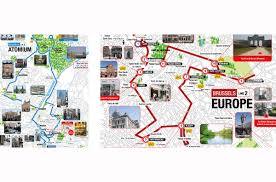 Brussels Map Hop On Hop Off Bus Tour Brussels City Sightseeing