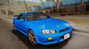 kereta skyline nissan skyline for gta san andreas