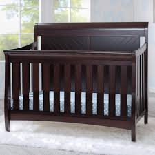 delta convertible crib toddler rail delta children bennington elite sleigh 4 in 1 convertible crib